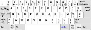 French AZERTY