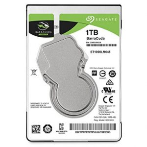 Seagate Barracuda Compute 1 TB @140MB/s (read)